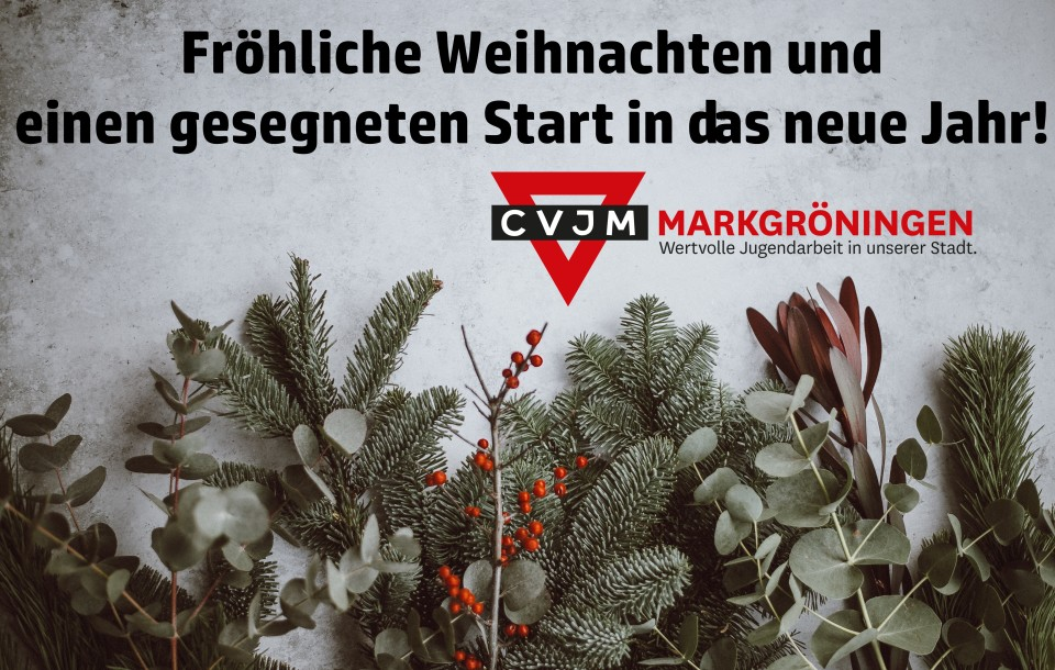 Fröhliche Weihnachten vom CVJM 2018