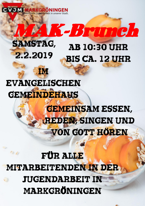 Flyer MAK-Brunch 2.2.2019