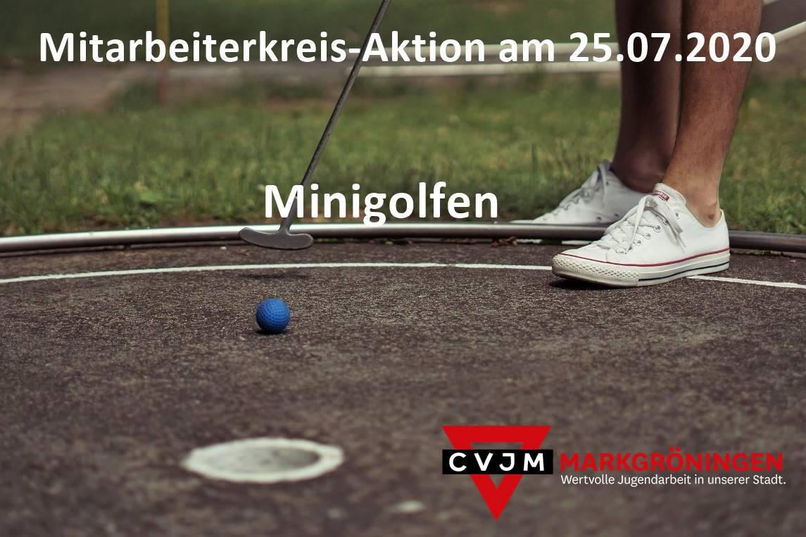Minigolf_Werbung_mit Überschrift